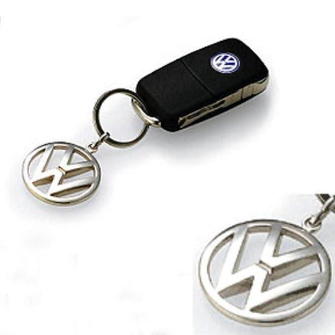 Amazon.com: Volkswagen metal Key Chain Llavero Fob Plata ...