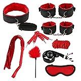 Qisuw 26 Pcs Bed Set - Nylon Leather Bunddled Kit