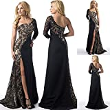 Pocciol Women Floor-Length Wedding Bridesmaid Long Ball Prom Gown Cocktail Dress (S)