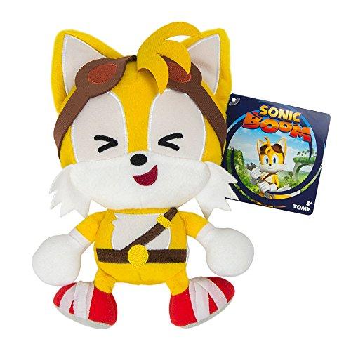 Stuffems Toy Shop Sonic Boom Emoji Plush, Happy Tails Laugh