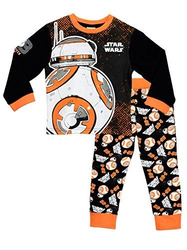 Star Wars Jungen Star Wars BB8 Schlafanzug 140