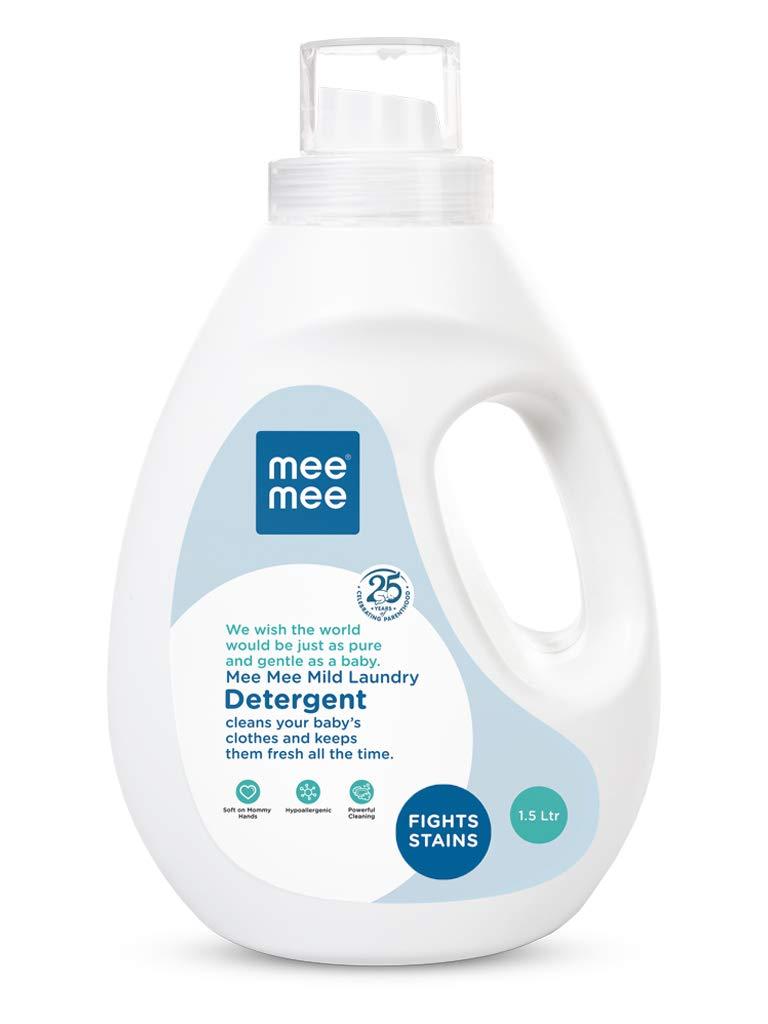 Mee Mee Mild Baby Liquid Laundry Detergent, 1.5 L for ₹540