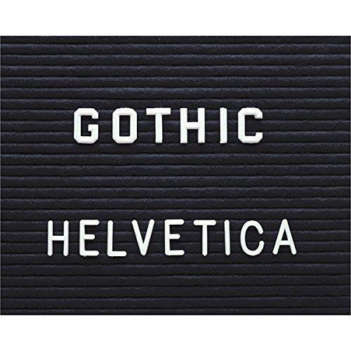 Letter Board Gothic Letter Set - 1