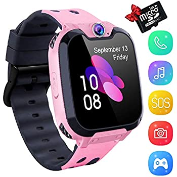 Amazon.com: Smart Watch Phone Smartwatch with Camera ...