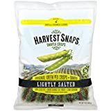 Harvest Snaps Green Pea Snack Crisps, Lightly Salted, deliciously baked and crunchy veggie snacks with plant protein and fiber, 14-Ounces