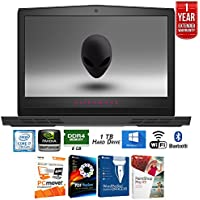 Dell Alienware 17.3 i7-7700HQ 8GB RAM 256GB SSD Gaming Laptop (AW17R4-7003SLV) + Elite Suite 17 Standard Software Bundle (Corel WordPerfect, PC Mover, PDF Fusion, X9) + 1 Year Extended Warranty