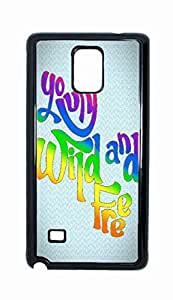 living young wild and free Snap-on Hard Back Case Cover Shell for Samsung Galaxy Note 4 -3416
