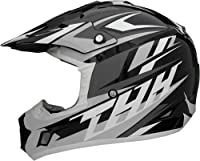 Thh Tx-12 Motorcross Adult Helmet Black/gray, Xxl by THH Helmets
