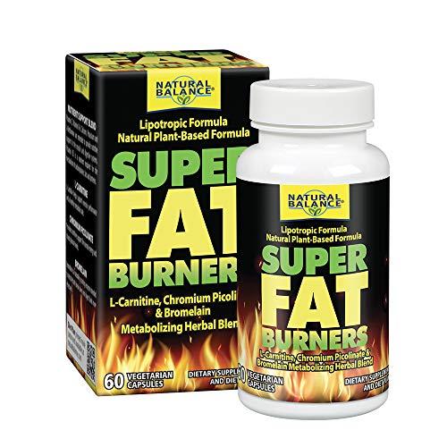 Image of Natural Balance Super Fat Burners Vegetarian Capsules, 60 Count
