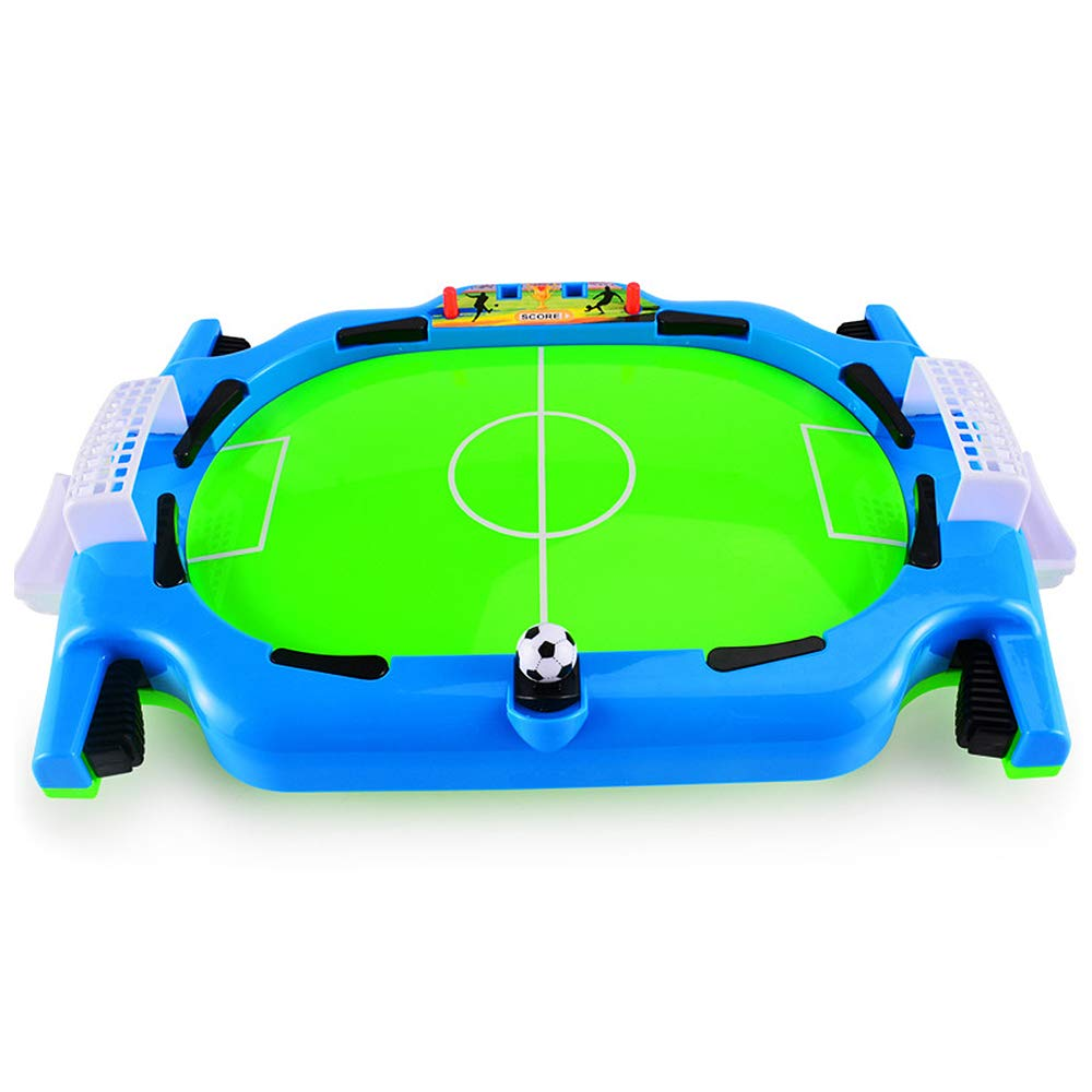 keebgyy Mini Tabletop Soccer Game Fun Table Soccer Sport Game Toy Interactive Party Toy Educational Puzzle Toy for Kids Adults Learning Educational Toy Kid Boys Gift