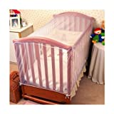 Mosquito Nets 4 U -Baby Cot Insect Net with FREE Net Drawstring Bag [Baby Product]