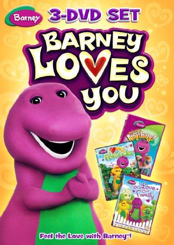Bar: Barney Loves You 3 Pack