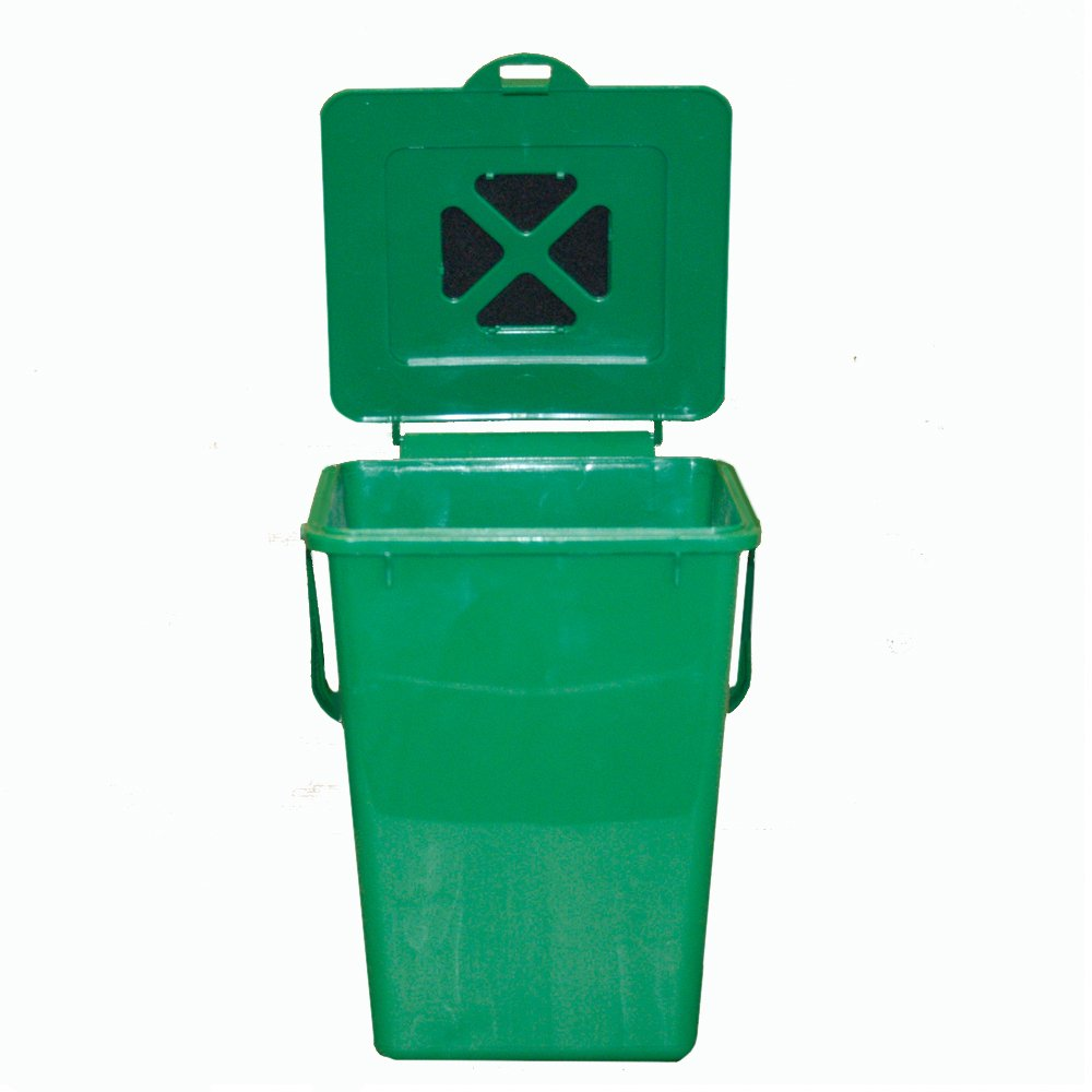 amazoncom exaco eco2000 24 gallon kitchen compost waste collector compost bins garden u0026 outdoor