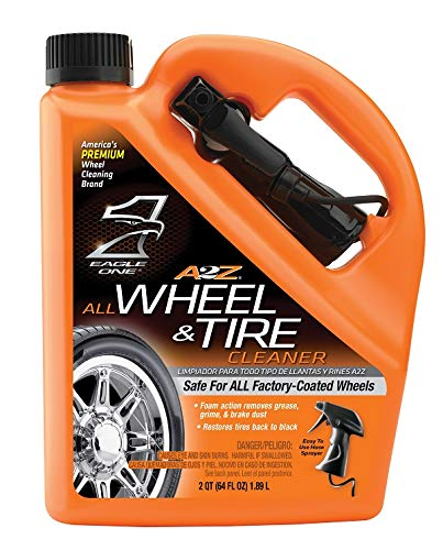Eagle One E300890900 854039 A2Z All Wheel and Tire Cleaner, 64 oz, 64. Fluid_Ounces ()