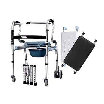 Amazon.com: Paseador de aleación de aluminio, bastón de ...