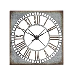 Benzara Manhattan Exclusive Wall Clock