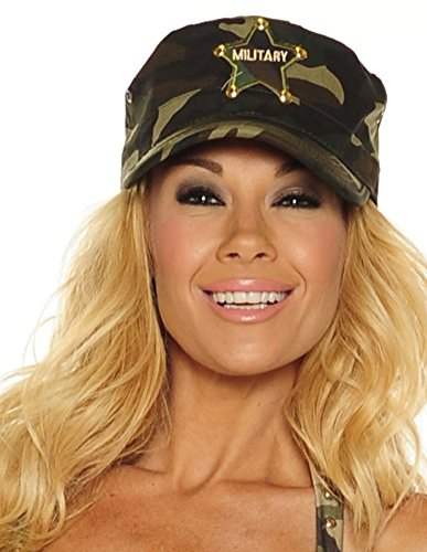 Army Accessories Costume Girl (Army Girl Cap)