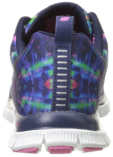 Please Skechers Women's Sneaker Fashion Flex Sport Pretty Appeal Cosmic Navy tHB1wHrq
