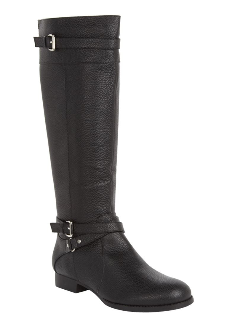 Comfortview Women's The Janis Wide Calf Boot B00DF4NQB8 8.5 M US|Black