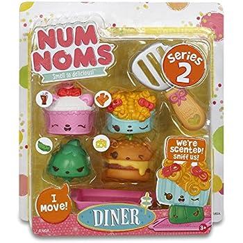 Amazon Com Num Noms Series 2 Scented 4 Pack Diner Toys Games