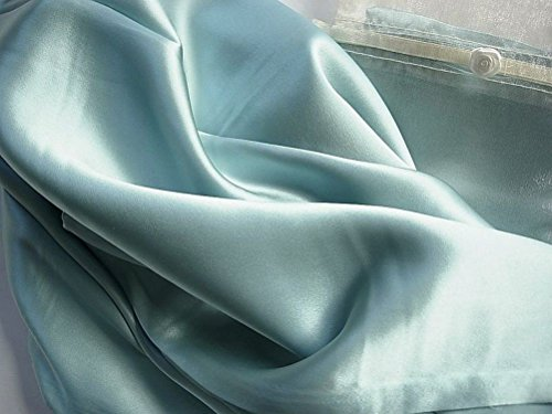 Misty Blue 100% Mulberry Silk Pillowcase Facial & Hair Beaut
