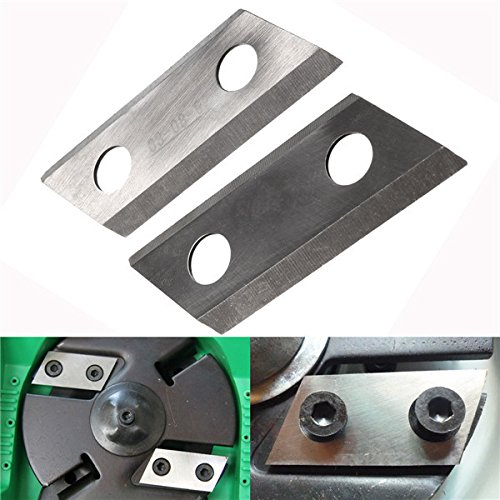 Hitommy 2Pcs Shredder Chipper Blade For Eco Es1600 Mcculloch Mcs2001