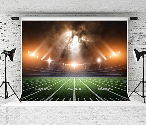 Football Field Background (Kate 7x5ft American Football Photography Backdrop Sports Stadium Photo Booth Background for Studio)
