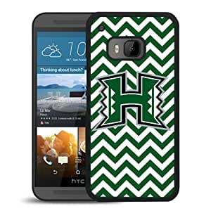 NCAA Rainbow Warriors 9 Black HTC ONE M9 Protective Phone Cover Case