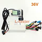WUXING L-Faster 250W 350W Electric Bicycle Brushless Motor Controller Thumb Throttle LCD Display and EBS Brake (36V Without EBS) Review