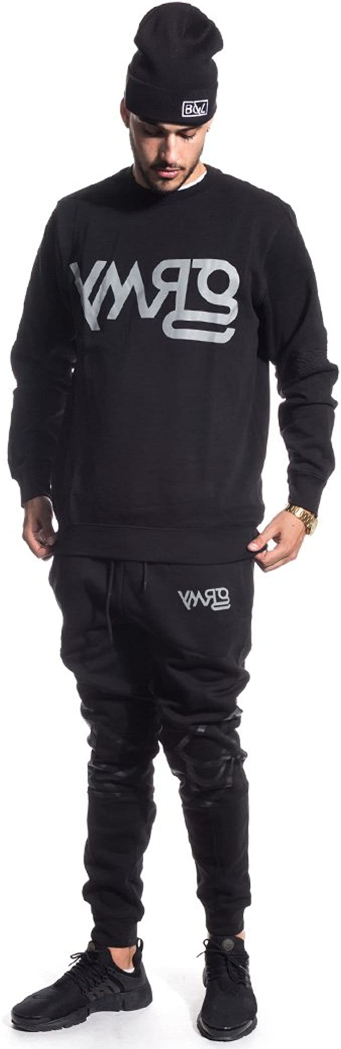 GRIMEY Pantalon Chandal Fire Eater Sweatpants FW16 BLACK-3XL ...