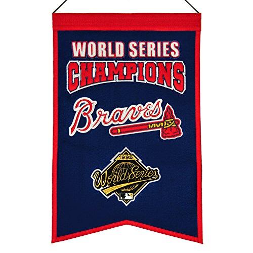 - Winning Streak MLB Atlanta Braves WS Champions Banner, One Size
