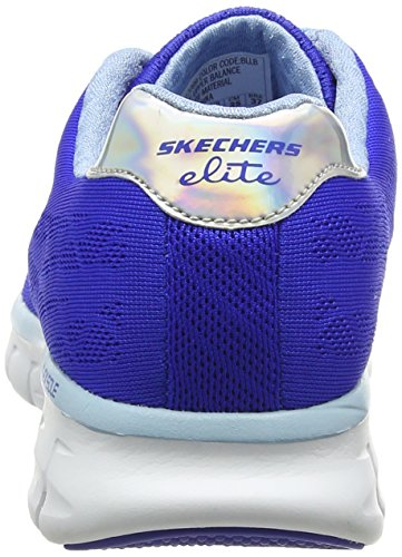 Moonlight Mujer Skechers Zapatillas Madness Bllb Azul Deporte de Synergy 6R51wOUq5