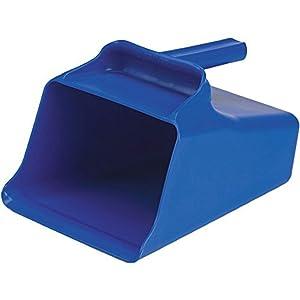Remco 65503 Blue Polypropylene Injection Molded Color-Coded Bowl Mega Scoop, 128 oz, 1 Piece