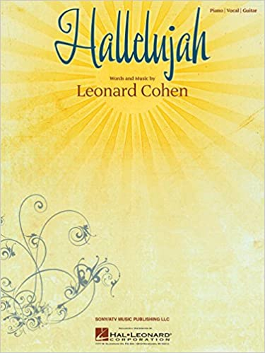 hal leonard hallelujah by leonard cohen arranged for piano vocal and guitar
