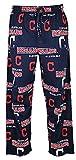Cleveland Indians Mens MLB Navy Fusion Pajama Pants