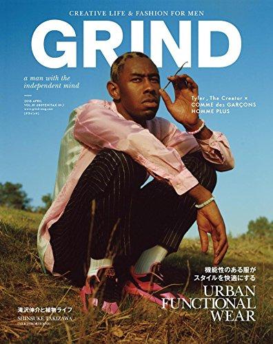 GRIND 2018年4月号 大きい表紙画像