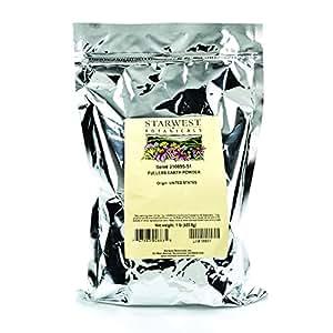 Starwest Botanicals Fuller's Earth Powder, 1 Pound