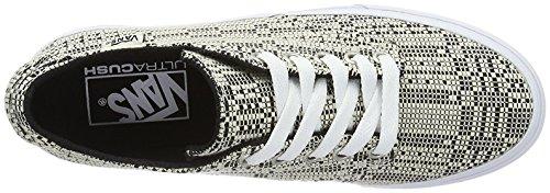 Nero bianco Donna Vans Camden Deluxe Sneaker Wm Basse SqRwCf