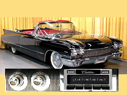 Custom Autosound Stereo Compatible with 1958-1960 Cadillac, USA-630 II High Power 300 watt AM FM Car Stereo/Radio