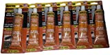 Master High Temperature Copper Plus RTV Silicone Gasket Maker Sealant 3.35 Ounce Tube 6 Pack