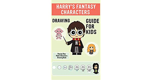 Amazon.com: Harrys Fantasy Characters Drawing Guide For ...
