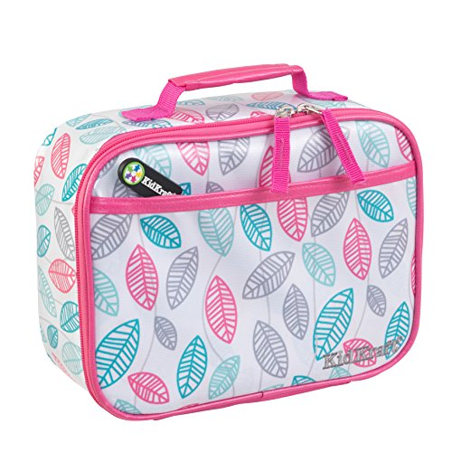 KidKraft Leaves Pattern Lunch Box, 12 x 5 x (Leaf Lunch)