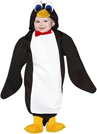 Amazon.com: Disfraz de Pingüino infantil, 6-12 meses ...