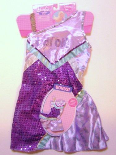 Barbie I Can Be: Cheerleader Costume Dress-up (Purple) & Matching Barbie Doll (Barbie Doll Costume For Kids)