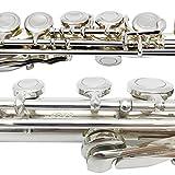 Bailando High Grade Silver Plated Flute, Offset