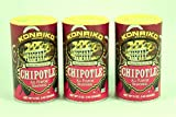 Konriko NO MSG Chipotle All Purpose Seasoning 5oz Canister (Pack of 3)