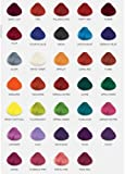 4 x TUBS DIRECTIONS Hair Dye/Colour CHOOSE ANY COLOURS