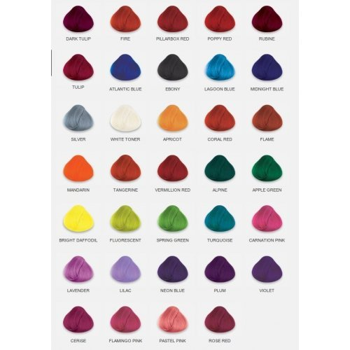 Amazon.com : 4 x TUBS DIRECTIONS Hair Dye/Colour CHOOSE ANY COLOURS ...