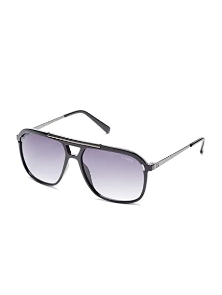 GUESS Factory Mens Oversized Navigator Sunglasses