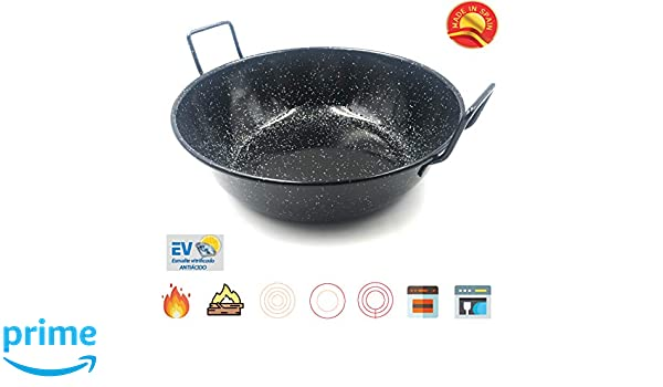 Amazon.com: Sunny Spain SSP22432 Professional Paella Steel ...